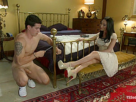Mia Isabella & Tyler Alexander in Classic Archive Shoot Five Star Fucking: Mia Silences A Pr Scandal - TSSeduction