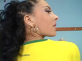 Amazing pornstar Janet Joy in exotic brunette, anal xxx clip