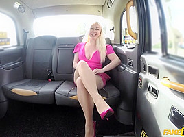 John & Pippa Blonde in Hot tv personality takes it hard - FakeTaxi