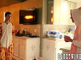 Jasper Robinson & Seth Cane & Tyler Thayer in Jasper Robinson and his butt buddies bang each other hard - BareTwinks