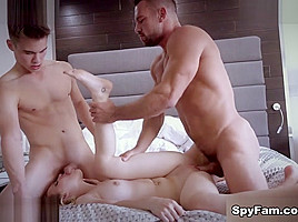 Emily Willis in Stepsis Catches Wimpy Stepbro Peeping On Her Masturbating - SpyFam