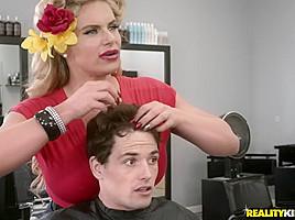 Phoenix Marie & Abella Danger & Tyler Nixon in Sneaky Salon Sluts - SneakySex