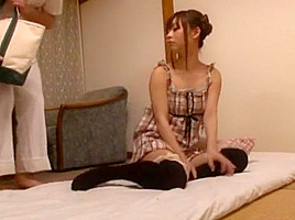Incredible Japanese whore in Crazy Amateur, Blowjob JAV scene