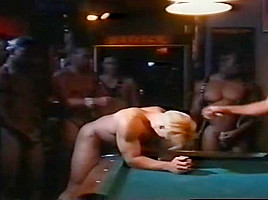 Pool Table Gang Bang