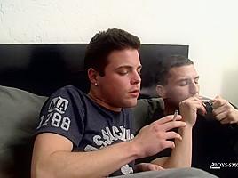 Jimmy & Dustin Hard Smoke Fuck! - Jimmy & Dustin Hard Smoke Fuck! - Boys-Smoking