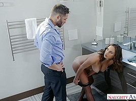 Ashley Adams & Charles Dera & Damon Dice in DirtyWivesClub