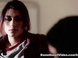 Raven Rockette,Anna Morna in Lesbian Stepsisters #03, Scene #01