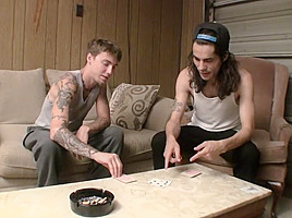 A Night In With Two Straight Boy - Devin Reynolds  Blinx - StraightNakedThugs