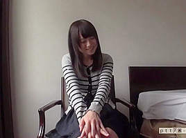 Misaki 20-year-old receptionist busty beauty amateur AV experience shooting 835