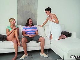 India Summer & Tarzan & Kate England in Kissing kate - MomsBangTeens