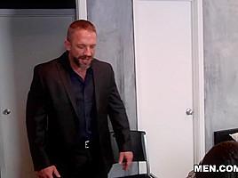 Dirk Caber & Trevor Spade in Stepfather's Secret Part 2 - DrillMyHole