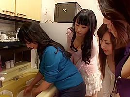 Mio Fujii, Ryoko Murakami, Yukari Ayasaki, Yuuha Sakai in Home Busty Nakadashi Soapland part 1.1