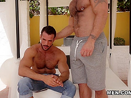 Denis Vega & Rogan Richards in Men In Ibiza Part 6 - DrillMyHole