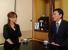 Horny Japanese chick Akiho Yoshizawa in Amazing lingerie, stockings JAV scene