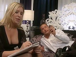 Horny pornstars Nikki Rhodes and Allison Pierce in crazy hd, big tits xxx scene