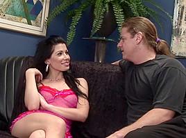Rebecca Linares Bounces On Cock Anally