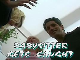 Babysitter Gets Punished For Jerking Off