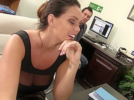 Alison Tyler & Billy Glide in Such Amazing Eye Candy At Such A Small Office - WankMyWood