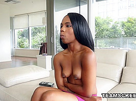 Sarah Banks in The New Kid On The Block - TeenyBlack