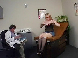 Doctor Examines His Patient's Pussy