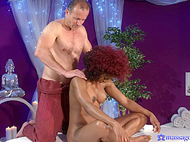 George & Jasmine Webb in Squirting Orgasm For Hot Black Girl - MassageRooms