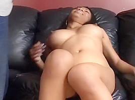Horny Black Girl Fucking Her Boyfriend