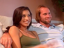 Wife Gangbanged While Husband Watches