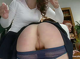 Classroom Anal Girls! Kristina and Penny