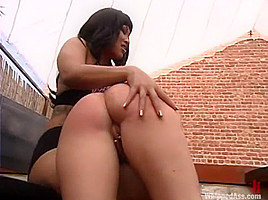 DragonLily and Gen Padova in Whippedass Video