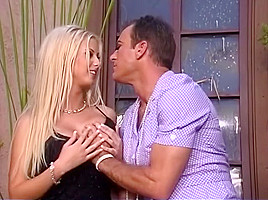 Best pornstar Krystal Steal in exotic blonde, outdoor sex clip