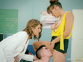 August Ames & Isis Love & Jordi El Nino Polla in A Tip To The School Nurse - Brazzers