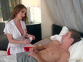Nikki Benz & Markus Dupree in Nurse Nikkis House Call - Brazzers
