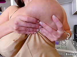 Angela White in Angela White 32 double g tits are breathtaking  - BigTitsRoundAsses