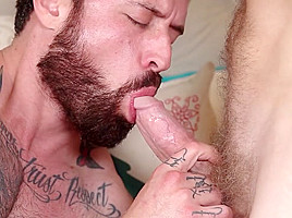 Colby Keller & Jordan Levine in Ghosts Of Christmas : A Gay XXX Parody Part 4 - DrillMyHole
