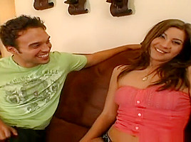 Godly breasty French MILF Ava Addams gives a magic BJ