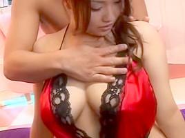 Aiuchi black lingerie pics rika